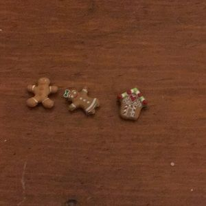 Origami owl gingerbread charms